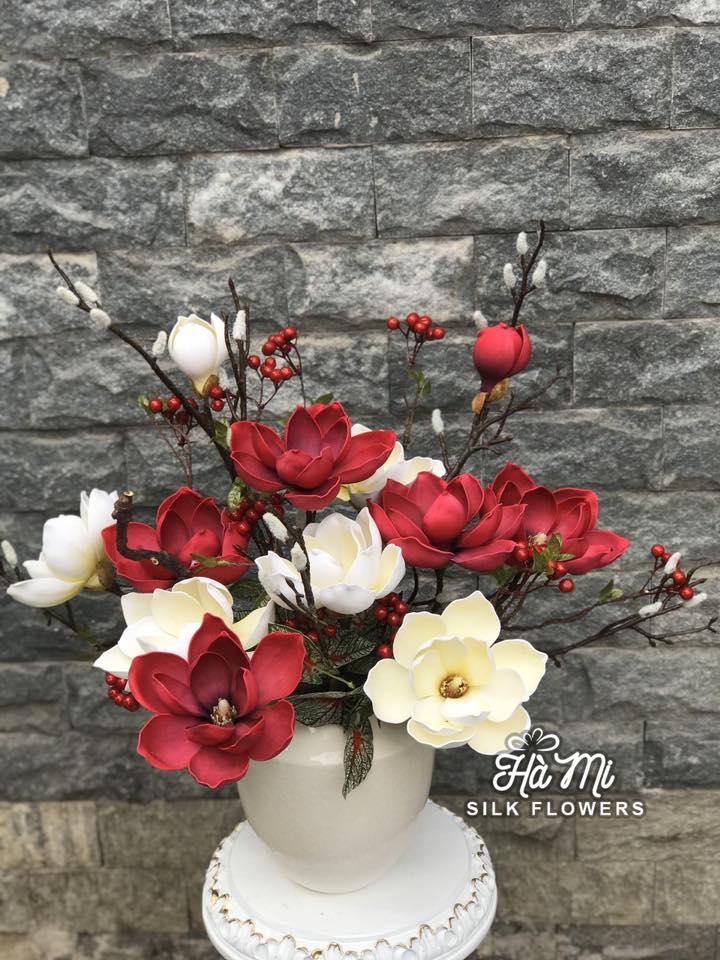 Hà Mi Silk Flowers