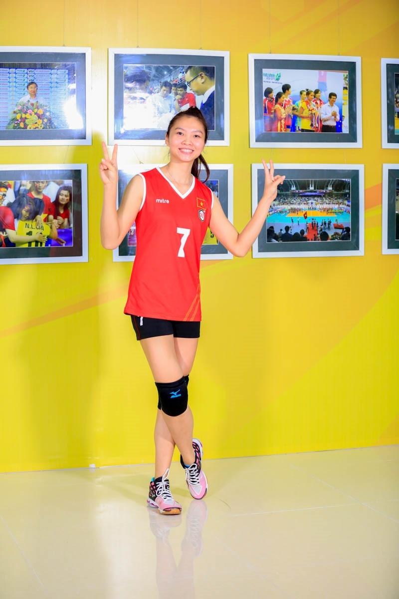 Hà Ngọc Diễm một trong số những bóng hồng tài năng của bóng chuyền Việt Nam