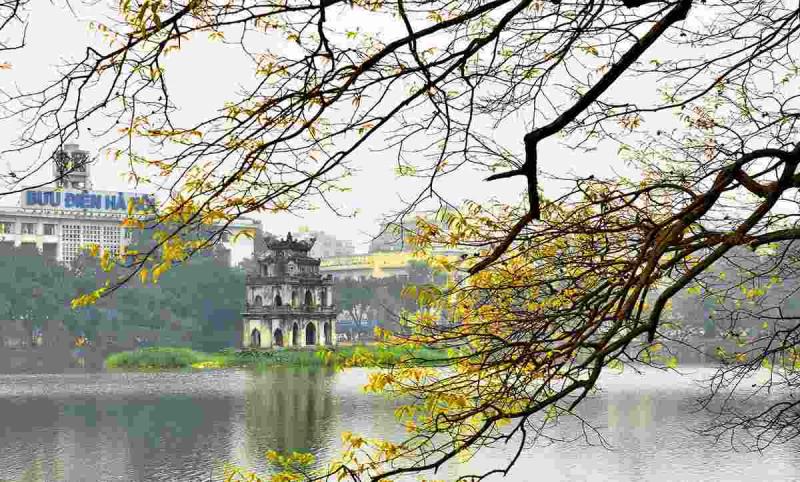 Hồ Gươm - một biểu tượng của thủ đô Hà Nội