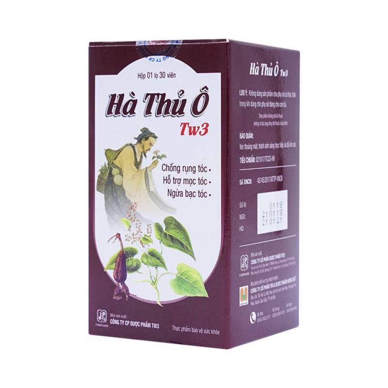 Viên uống Hà Thủ Ô TW3