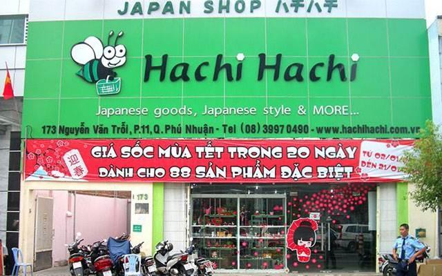 Hachi Hachi là cửa hàng chuyên kinh doanh các sản phẩm đến từ Nhật Bản
