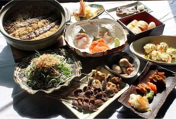 Đồ ăn được nêm đúng gia vị Nhật