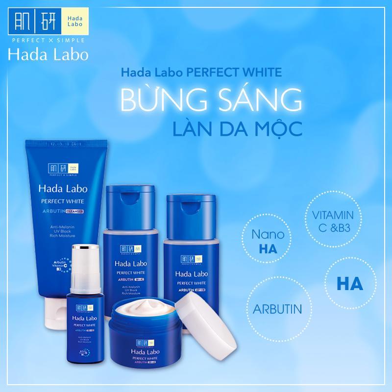 Dòng sản phẩm Hada Labo có khả năng loại bỏ tối đa các thành phần có thể gây hại cho da như: hương liệu, chất tạo màu, dầu khoáng…