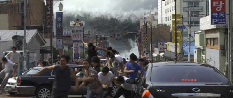 Cơn sóng thần trong phim Haeundae
