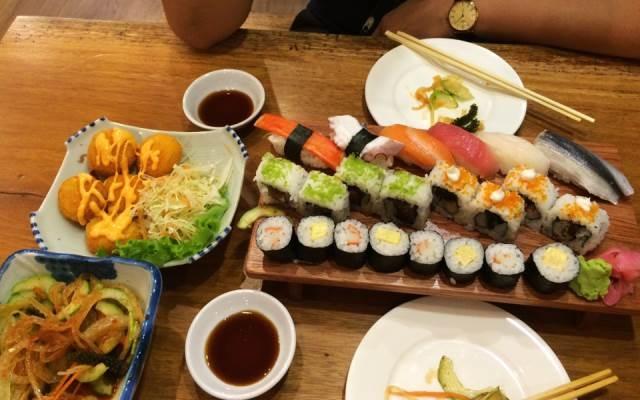 Món ăn Nhật ở Haha Sushi - Lê Lợi