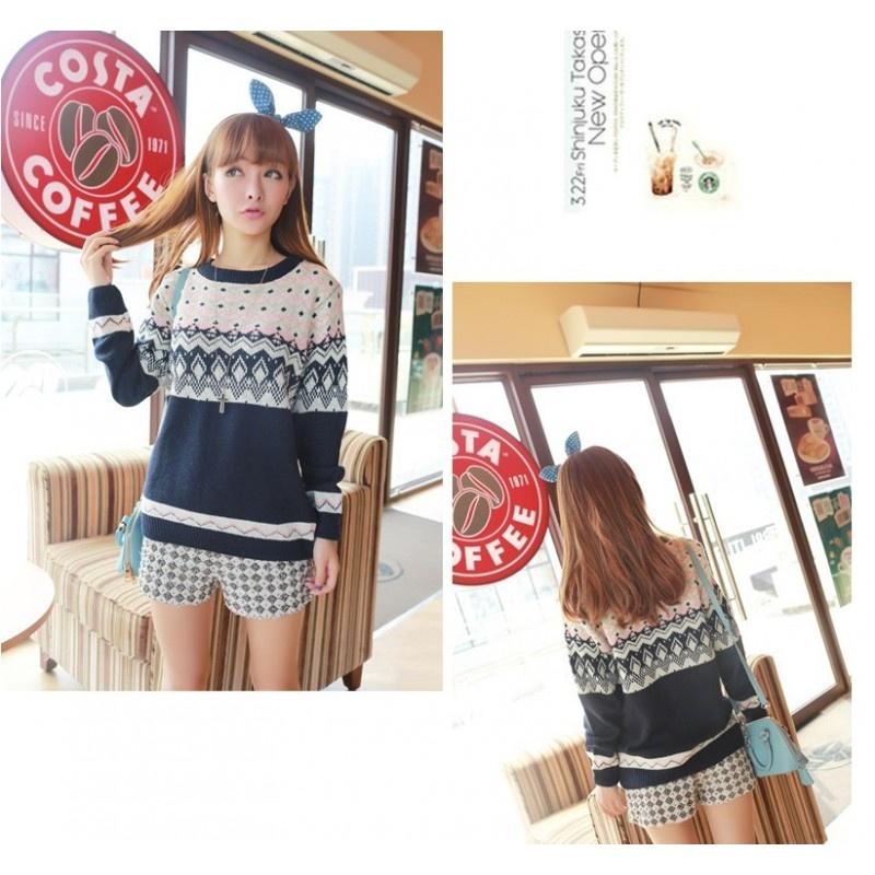 Áo len của Hải Âu Shop mang đậm phong cách Hàn Quốc (Nguồn: Sưu tầm)