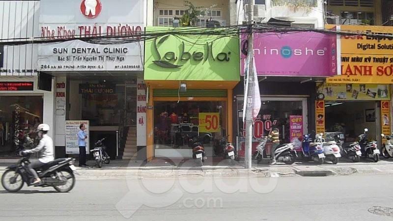 Shop trên đường Hai Bà Trưng