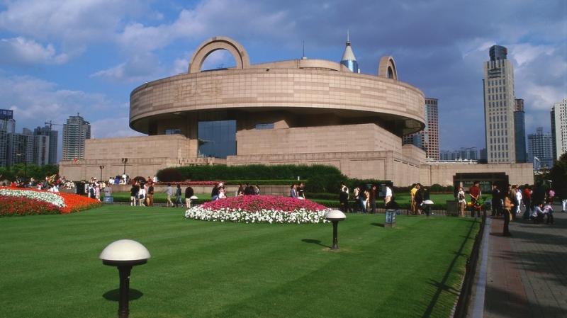 Nơi xảy ra vụ việc - Bảo tàng Thượng Hải - Nguồn: Sưu tầm