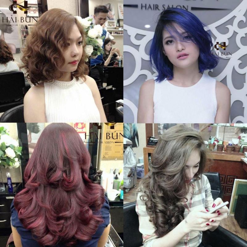 Salon nhiều năm được các chị em tin cậy làm tóc