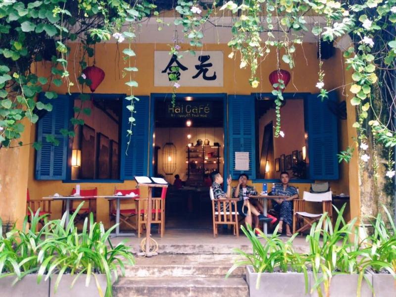 Hải Cafe nằm trong danh sách những quán cà phê nổi tiếng ở Hội An