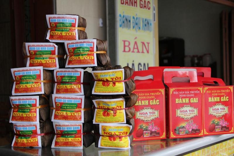 Bánh gai - Đặc sản của tỉnh Hải Dương