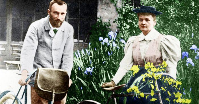 Marie và Pierre Curie