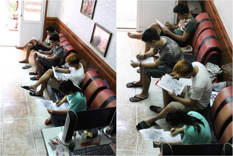 Hải Phòng Tattoo Club nhận đào tạo học viên