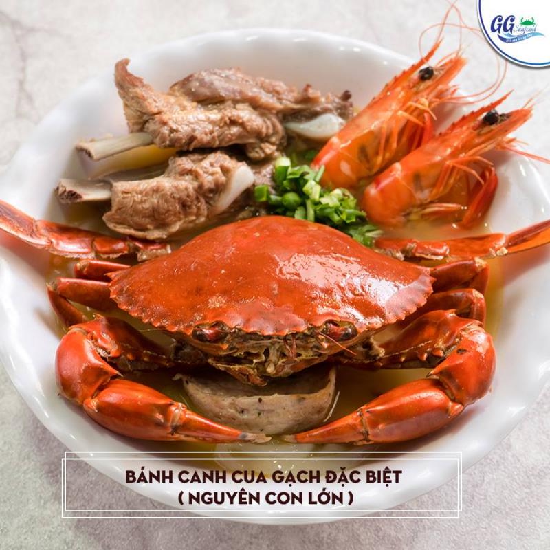 Món hải sản hấp dẫn tại nhà hàng