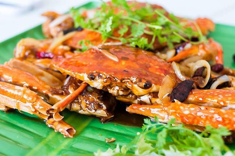Hải sản là món chủ đạo tại nhà hàng Hải sản Lâm Đường