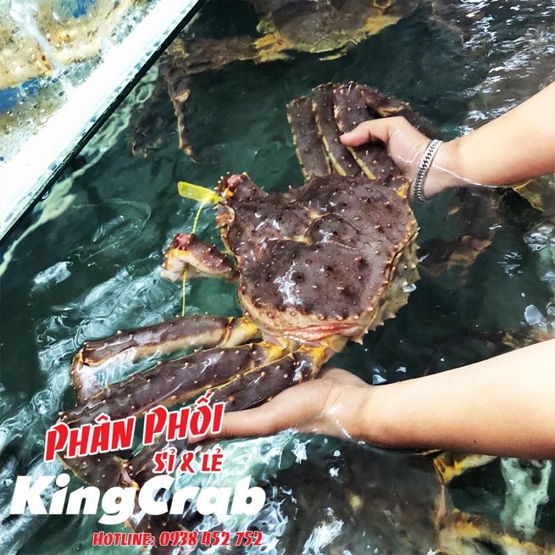 Cua Hoàng Đế tươi ngon, chắc thịt ở Hải Sản Sài Gòn