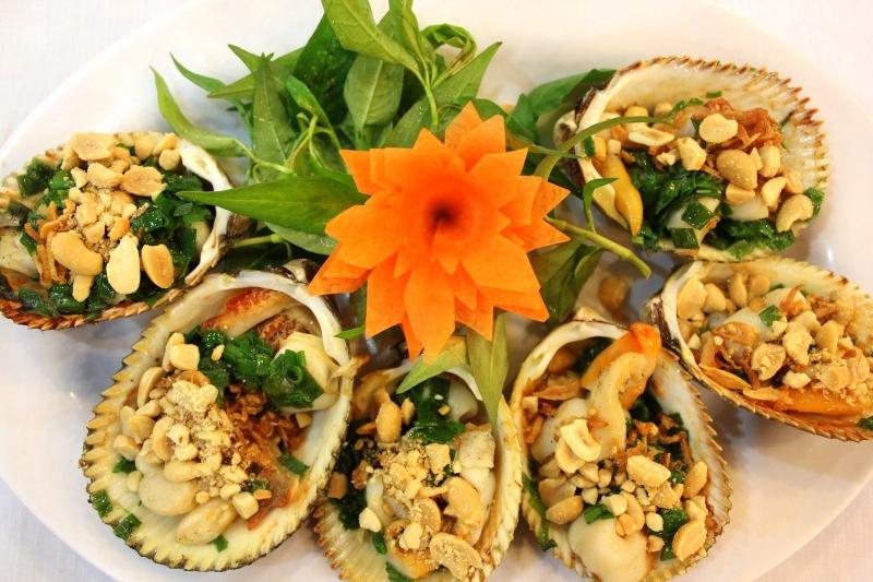 Hải Sản Tẹo K4 nổi tiếng với các món sò