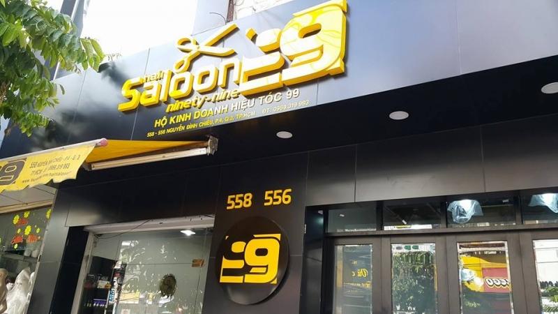 Hair Saloon 99 là một địa chỉ cắt tóc ngắn nổi tiếng đẹp ở TP.HCM