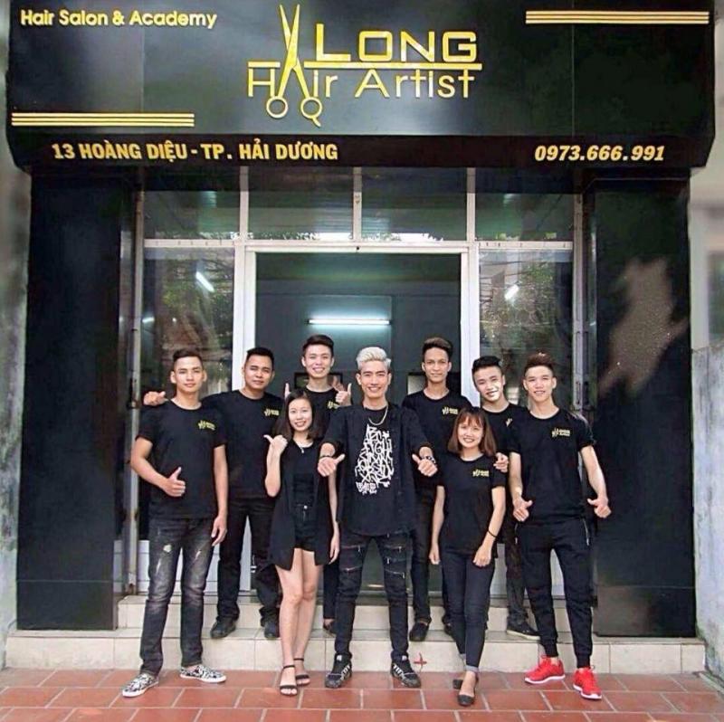 Bên ngoài Hair Salon & Academy Long Hair Artist
