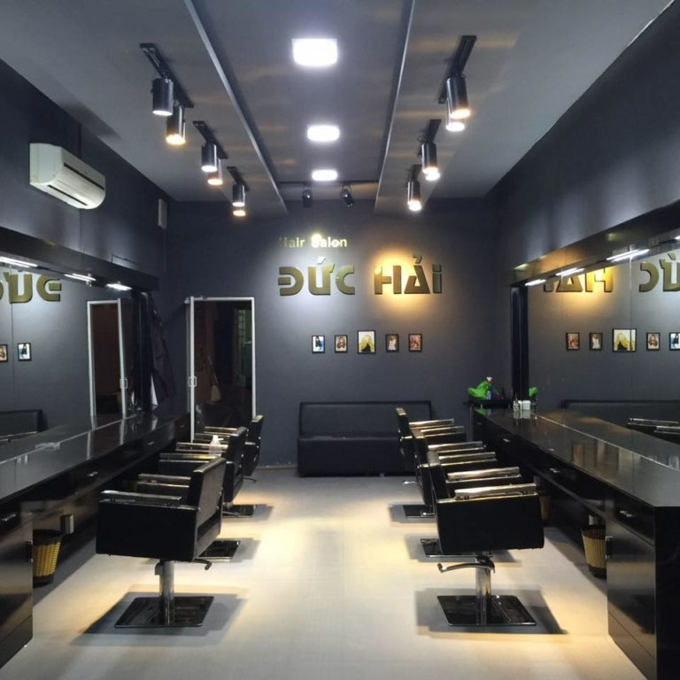 Không gian bên trong Hair Salon Đức Hải