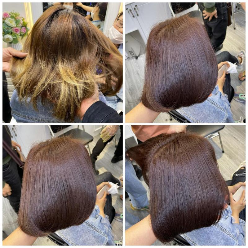 Tóc được phục hồi tại Hair Salon Duy Lai