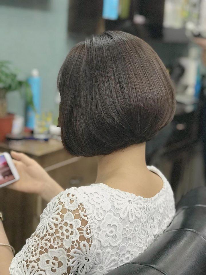 Tóc ngắn cũng có thể biến hóa trở nen quyến rũ và xinh đẹp cho các nàng