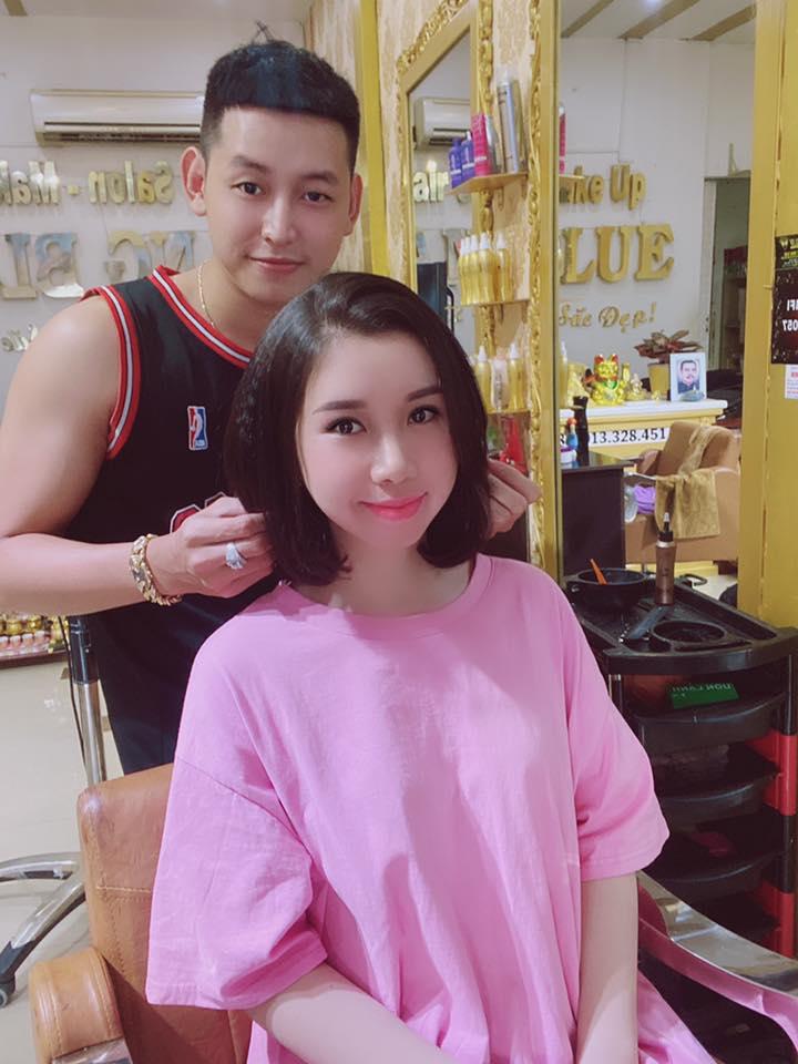 Hair Salon Sang Blue