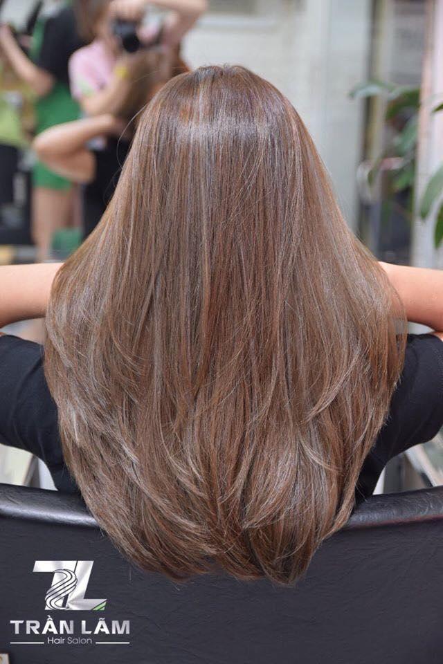 Tóc được xử lý trở nên đẹp và suôn mượt hơn