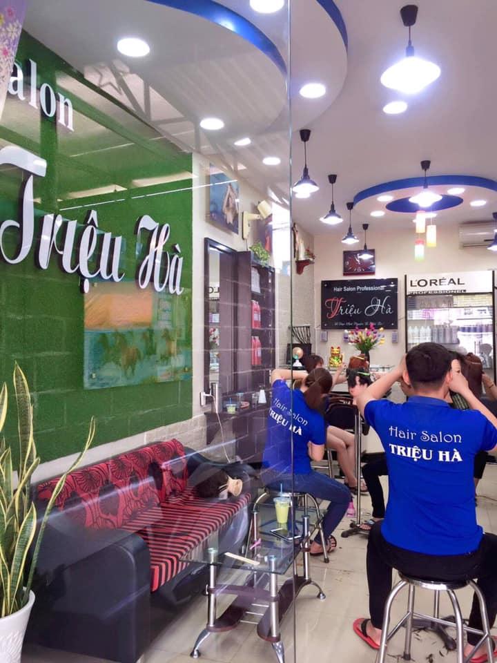 Hair salon Triệu Hà