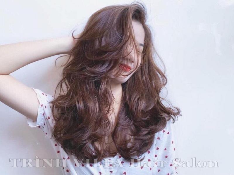 Hair Salon Trình Villa đề cao nét đẹp của một người thông qua mái tóc