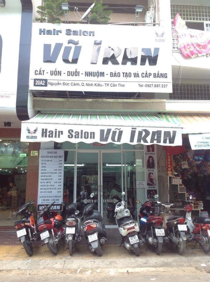 Hair Salon Vũ Iran tại TP. Cần Thơ