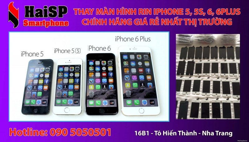 HaiSP có dịch vụ thay màn hình giá tốt nhất thị trường