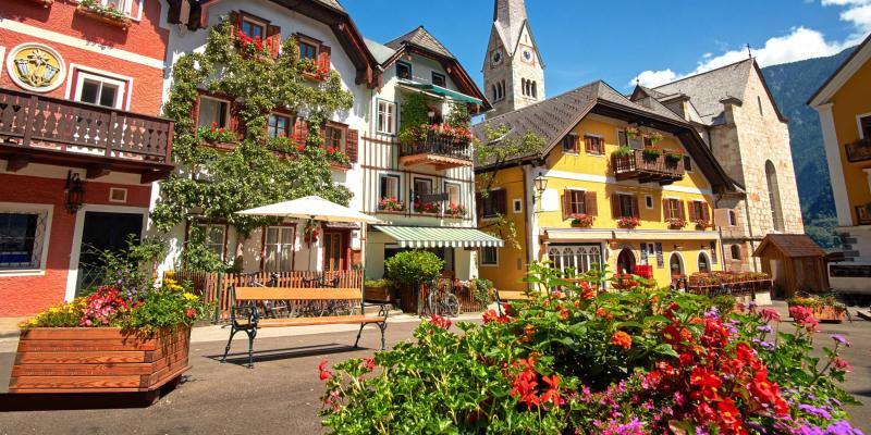 Thị trấn Fairytale của Hallstatt đẹp như bước ra từ trong giấc mơ