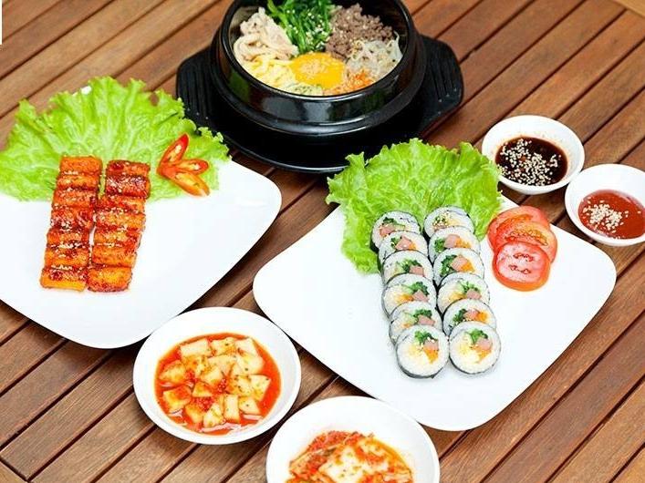 Một số món ăn tại Hallyu