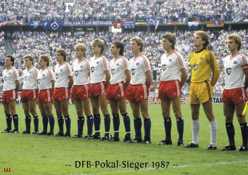 Đội hình Hamburger SV vô địch năm 1987