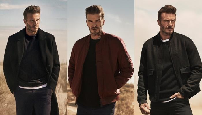 David Beckham - gương mặt đại diện của H&M năm 2015