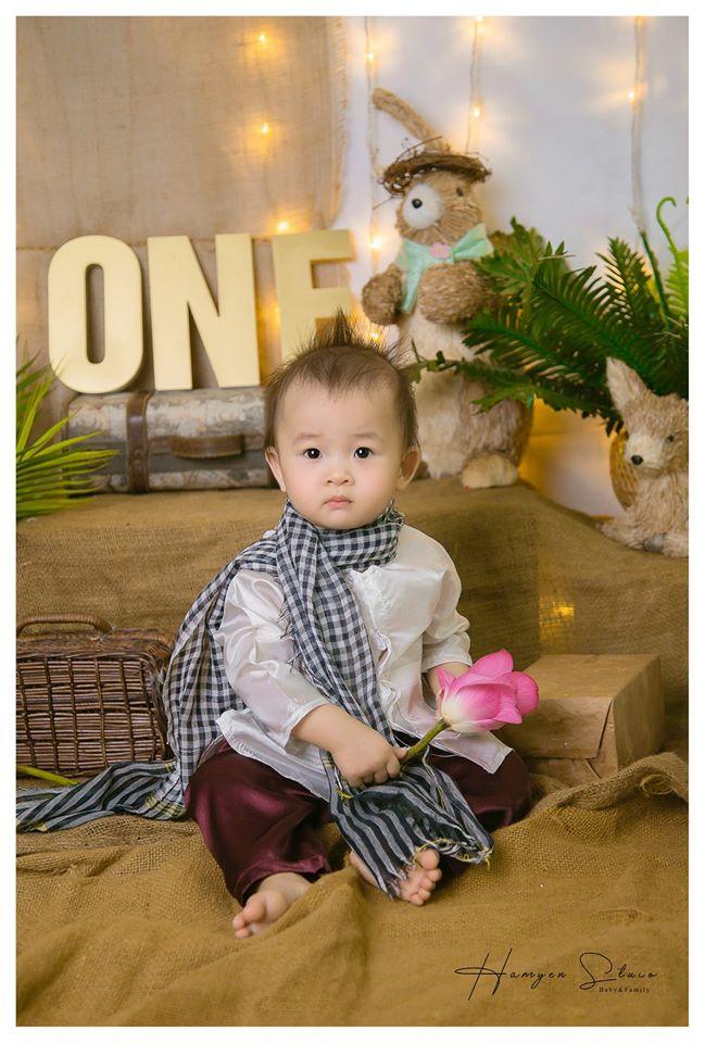 HamYen Studio Baby & Family ghi lại khaornh khắc đáng yêu của bé