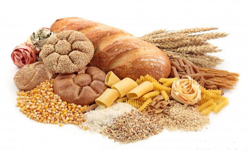Chất bột đường có trong gạo, bánh mỳ, ngũ cốc...