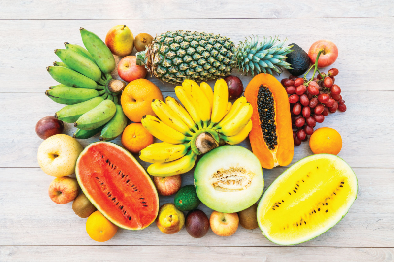 Nên ăn hoa quả để bổ sung vitamin