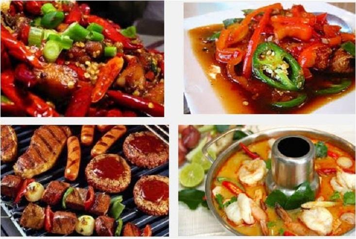 Hạn chế thức ăn cay nóng