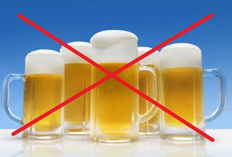 Hạn chế thức uống có cồn trước ngày waxing