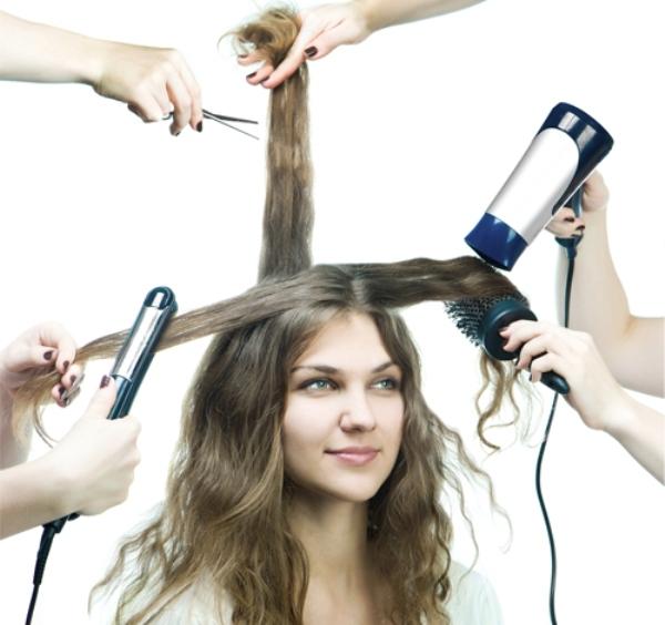 Hóa chất, uốn, ép ...là kẻ thù của mái tóc khỏe đẹp