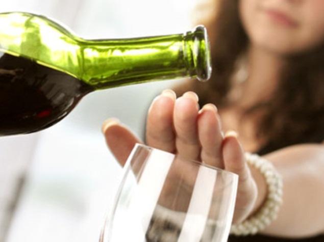 Không nên uống quá nhiều rượu