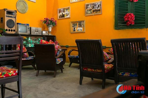 Một góc quán của Hân cafe
