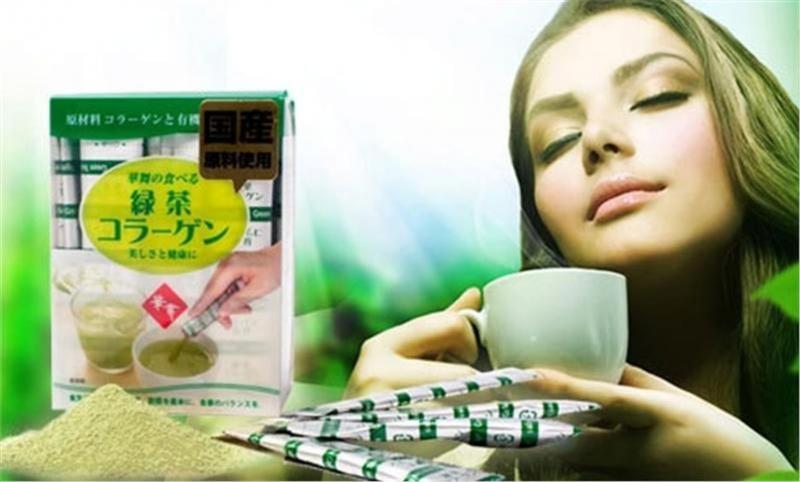 Hanamai Tea Collagen được sản xuất tại Nhật bản, bổ sung collagen nhiều gấp 5 lần thực phẩm thông thường, giúp da mịn màng, làm mờ các vết nám, tàn nhang, làm chậm quá trình lão hóa
