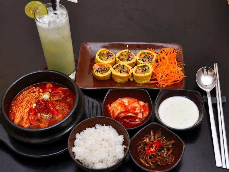 Các món ăn hấp dẫn tại Hancook