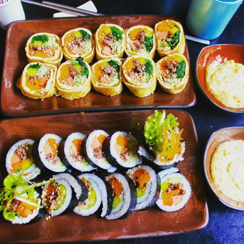 Kimbap tại Hancook