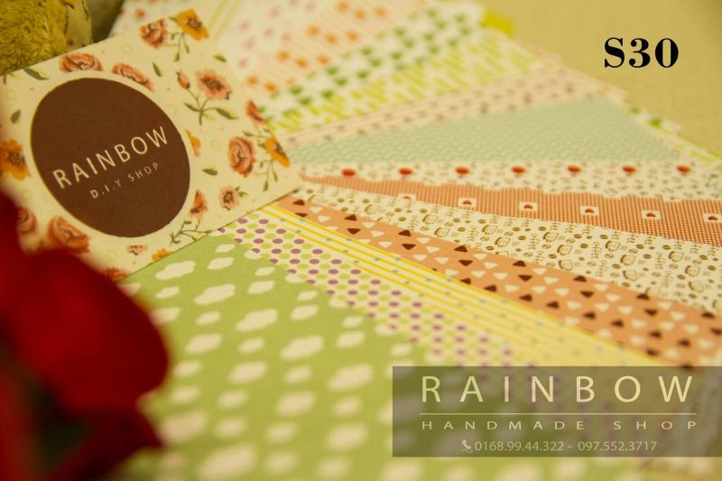 Thiệp giấy của RAINBOW