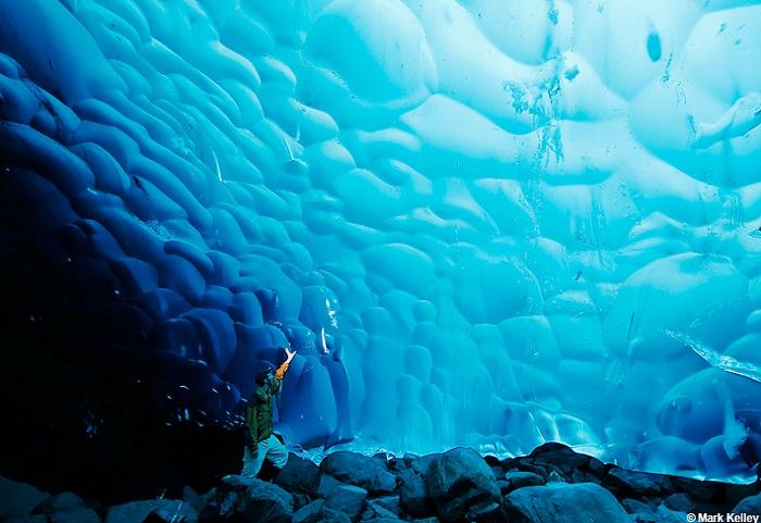 Hang băng Mendenhall tại Juneau, bang Alaska, Mỹ