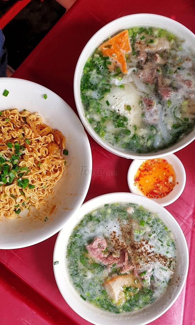 Bún nước & mỳ trộn khô cô Dung